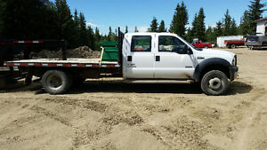 2006 Ford F-450 Pickup Truck with dump trailer