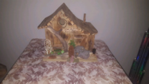 Rustic Gnome/Bird House