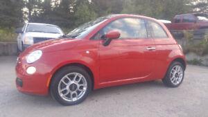 FIAT 500C 2012 CONVERTIBLES AUTOMATIQUE 7495$