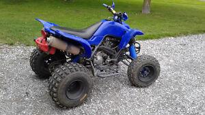 Yamaha raptor 660 2002
