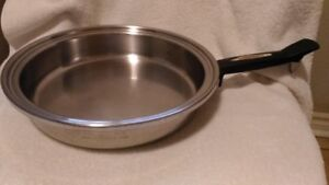 Fry Pan Stainless steel try ply   11 inch     Brampton