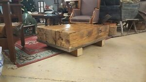 Custom built Coffee tables, couch tables, end tables.