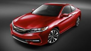 Honda Accord Coupe 2017 $320/month