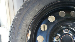 SET OF 4 MICHEIN ICE SNOW TIRES ON RIMS
