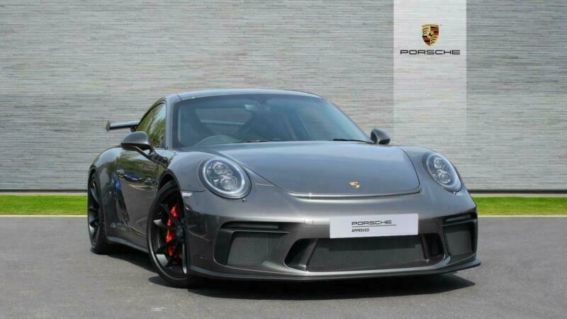 2018 Porsche 911 Gt3 Pdk Petrol Grey Semi Auto In London