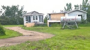 mobile home on acreage for rent