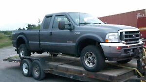 PARTING OUT INDIVIDUAL PARTS OFF 2003 FORD F-350 DIESEL 4X4