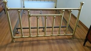 Queen Sized Brass Bed frame