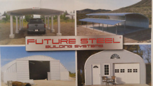 Brand new Future Steel Building for sale!