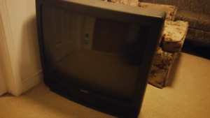 Big tube screen TV