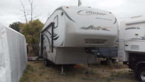 Cougar High Country Fifth Wheel- 291RLS    ( 32 ft  with hitch)