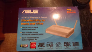 Two older routers - Asus and Hawking