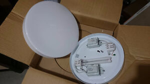 10 suspension  ceiling light fixtures, mounting tracks