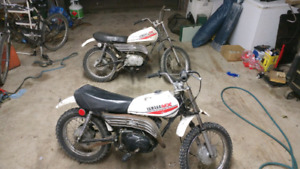 Two 1981 yamaha mx 80s for sale