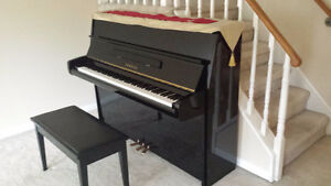 YAMAHA Piano P2F Black- Excellent condition - recently appraised