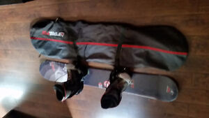 Snowboard full package crazy cheap!