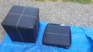 2 storage cubes - collapsible