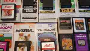 24 retro Atari 2600 game cartridge collection ! Kitchener / Waterloo Kitchener Area image 3