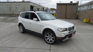 2008 BMW X3, AWD, Auto, Leather,roof, 3 Years Warranty available