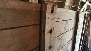 Large and rare - 100 year old antique barn door London Ontario image 7