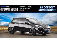 Vauxhall Corsa 1.4i 2016 Limited Edition - FREE INSURANCE