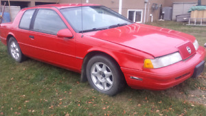 1990 MERCURY COUGAR XR7 SUPERCHARGED