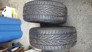 16 inch 2 summer tires almost new!!! 225/55R16 95w