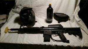 Beloved BT Omega Paintball gun with extra bits