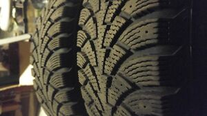 2 Nokian Winter Tires 205 65 15