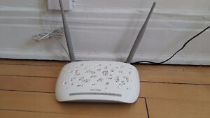 Modem router TP-LINK wifi ADSL2+ 300Mbps