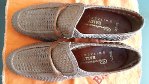 Vintage Bally Switzerland Men's Leather Loafers Dress Shoes 80s