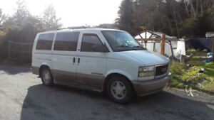 GMC SAFARI 2002 camper van
