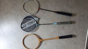 Badminton racquets - sold individually or all 3 together