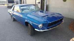 68 Mustang Coupe - All NEW parts!!!