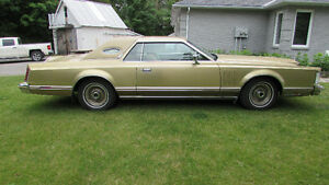 1978 LINCOLN CONTINENTAL DIAMOND JUBILE ADDITION