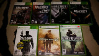 Call of Duty and Shooter Games (Various Prices)