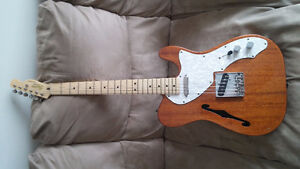 Squier Classic Vibe Thinline Telecaster - Natural Mahogany