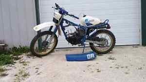 BLOWN 1984 suzuki dr 125