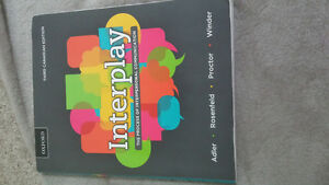 Nursing Textbook for sale *** INTERPLAY (nursing communications)
