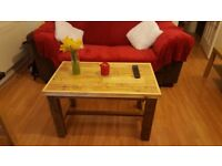 Coffee table rustic shic pallet country table