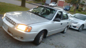 2002 Hyundai Accent Sedan