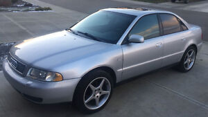 1999 Audi A4- Low KM, Great Winter Car with 2 sets of wheels!