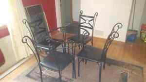Beautiful Wrought Iron Chairs -Dining Room, Outdoors or Kitchen! Regina Regina Area image 1