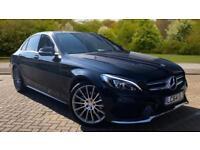 2014 Mercedes-Benz C-Class Saloon C220 BlueTEC AMG Line Premium Automatic Diese