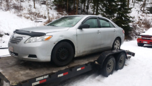 2007 toyota camry for parts ,parting out