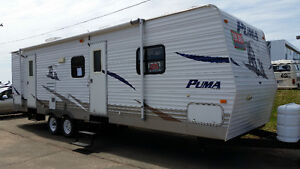 NEW PRICE 2007 Puma 29' Travel Trailer with Bunks