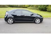 ** 2010 honda civic 1.8 vtec automatic with very high spec - bargain like the focus astra leon