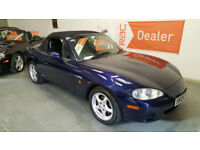 2004 MAZDA MX5 1.6cc - ONLY 56,000 MILES FROM NEW WITH SERVICE HISTORY