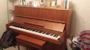 Good condition piano