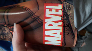 Oversized poster. Signed Marvel Wolverine and the x men.